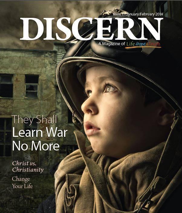 Discern magazine cover