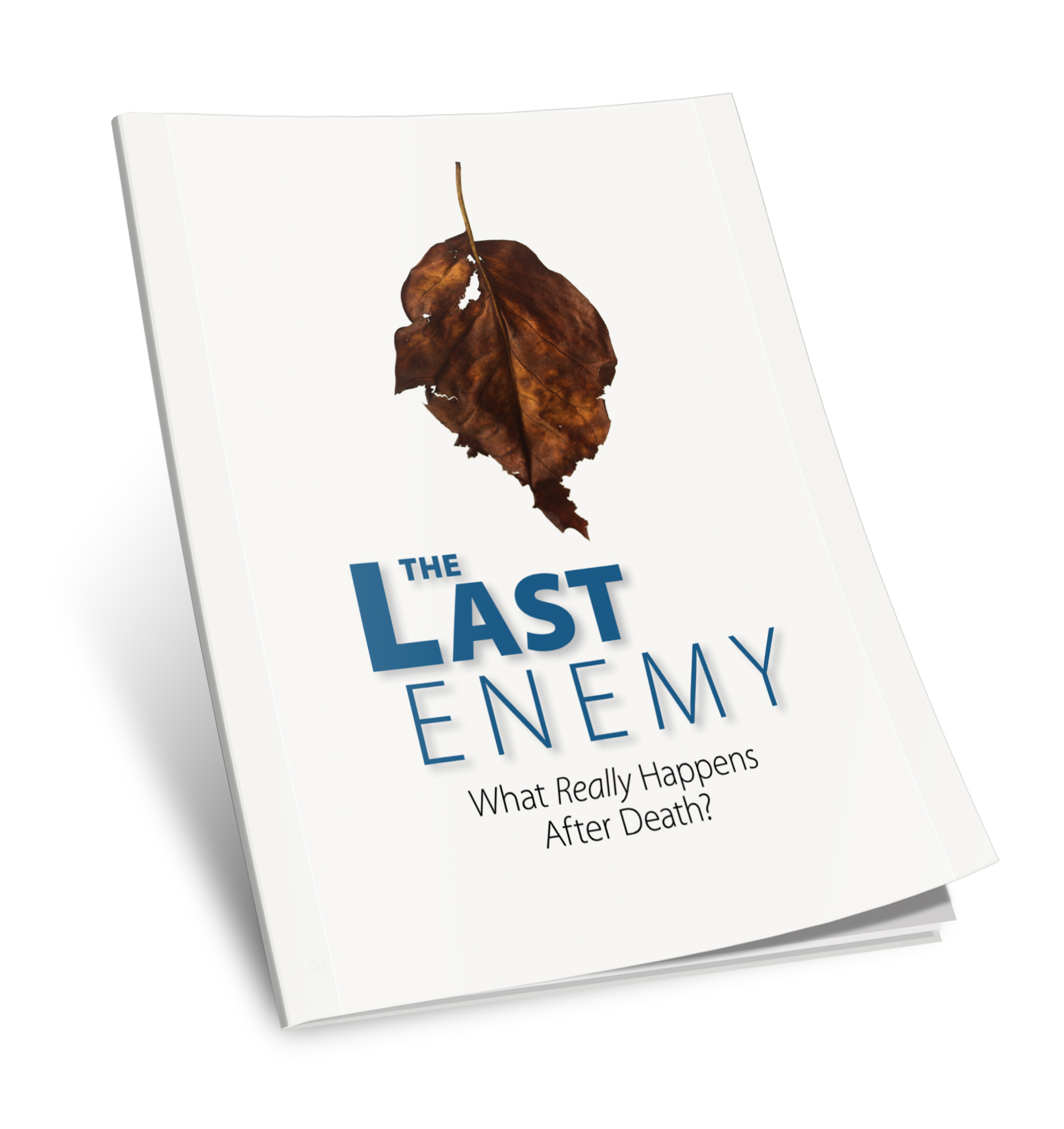 The Last Enemy What Really Happens After Death booklet cover