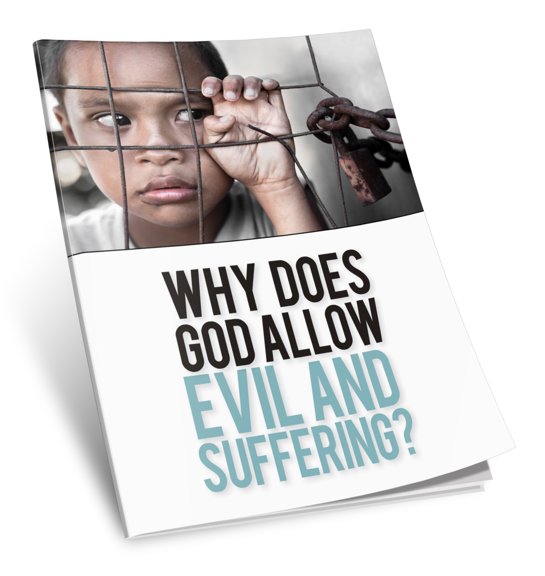 Why Does God Allow Evil and Suffering booklet cover